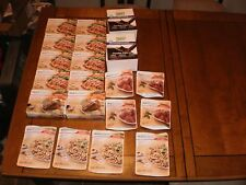 18 Nutrisystem Dinners and Two Turbo Shakes