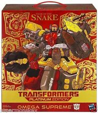 HASBRO TRANSFORMERS PLATINUM EDITION YEAR OF THE SNAKE OMEGA SUPREME FIGURE