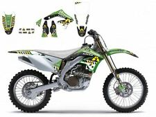 BLACKBIRD KAWASAKI KXF 450 2006 KIT GRAFICHE ADESIVI ARMA ENERGY GRAPHIC VERDI