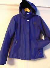 ~ROSSIGNOL WOMENS SKI SNOWBOARDING JACKET PURPLE PARKA POLYESTER JACKET SIZE S