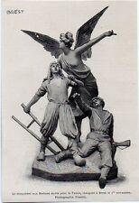 1900  -  BREST 1r NOVEMBRE  INAUGURATION MONUMENT AUX MORT POUR LA PATRIE  3K868