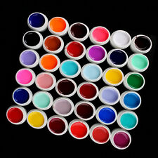 36 Mix Colors Pots Kit Pure UV Gel Builder For DIY Polish Nail Art Tips Manicure