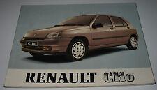 Betriebsanleitung Handbuch Renault Clio I Typ 57 Bedienungsanleitung 04/1991!