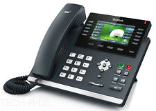 Yealink SIP-T46G SIP HD 6 Accounts Voice IP Phone Color LCD PoE Wall Desk Mount