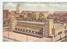 Canadian National Railways Station  Montreal  Quebec   Mailed  Postcard 1043