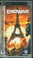 Tom Clancys EndWar PSP Video Game Brand New  Factory Sealed Playstation Ubisoft