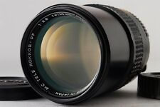 【Near Mint 】 Minolta MC TELE ROKKOR-PF 135mm f/2.8 Manual   Lens from Japan #196