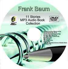 Frank Baum, Dorothy & the Wizard of Oz + 10 other MP3 Audio Books on DVD MP3