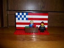 Lego Set - PRESIDENT DONALD TRUMP - MELANIA TRUMP - WHITE HOUSE - CUSTOM