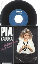 "7"" PIA ZADORA --LITTLE BIT OF HEAVEN"