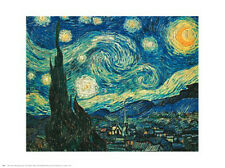"""Starry Night"" by Vincent van Gogh- Fine Art Print - 24 x 30"