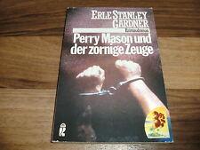 Erle Stanley Gardner -- PERRY MASON und der ZORNIGE ZEUGE // von 1986