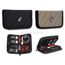 Cable pouch organizer bag USB Flash Drive Cable Memory Card Travel