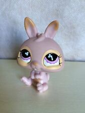 Littlest Pet Shop Easter Basket Bunny Rabbit Baby Dwarf #667 Pink Purple LPS