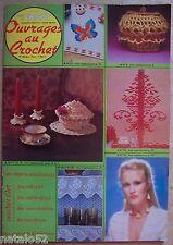 catalogue ancien tout le tricot OUVRAGES AU CROCHET n° 84 bis - 1980