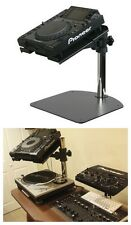 Technics Turntable DJ Mixer CD Laptop Pioneer CDJ Universal Equipment Stand $279
