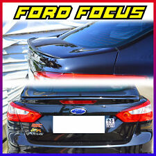 Painted FORD Focus 3rd 4DR Sedan Rear Trunk Spoiler Wing 12-15 EU ASIA Model ◣