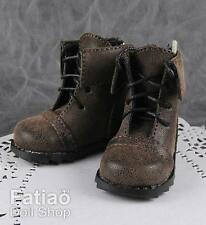 New 1/4 BJD Mini Super Dollfie MSD Dolls Boots shoes - Brown
