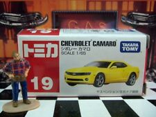 TOMICA #19 CHEVROLET CAMARO 1/65 SCALE NEW IN BOX