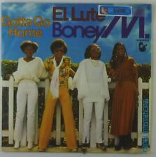 "7"" Single - Boney M. - El Lute / Gotta Go Home - S920h - washed & cleaned"