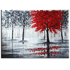 Home Wall Decor Art 100% handcraft oil painting Tree No Frame 218#