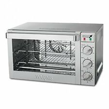Waring WCO500X Commercial 1/2 Size Convection Oven 120 Volt 1700 watt 1/2 sheet