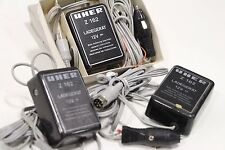 Lot of (3) Uher Z162 Ladegerat 12v Battery Charger + Free Priority Shipping!!!