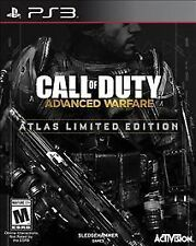 NEW Call of Duty: Advanced Warfare Atlas Limited Edition for PlayStation 3 PS3