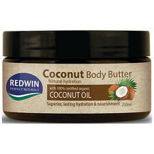 Redwin Coconut Body Butter 250ml Natural Hydration with 100% Organic Coconut Oil