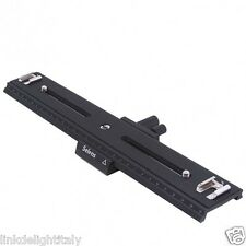 31cm Macro Shot Focusing Focus Rail Slider Flash Support Plate for Cameras