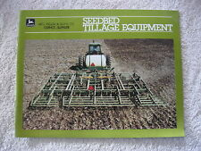 1983 JOHN DEERE SEEDBED TILLAGE EQUIPMENT 32 PAGE BROCHURE NICE