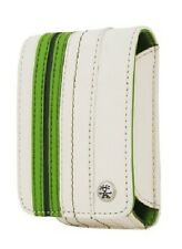 Crumpler Gofer Royale 35 Off White / Dark Green Leather Compact Camera Pouch