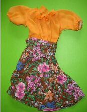vetement robe cathy bella no barbie vintage