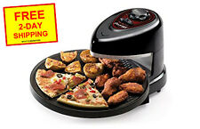 NEW Rotating Pizza Wings Oven Counter Top Baking Cooker Nonstick, Fish Fillets