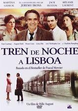 NIGHT TRAIN TO LISBON **Dvd R2** Jeremy Irons, Melanie Laurent