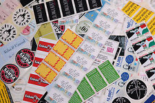 500 FULL COLOUR or Plain (58*40)Self Adhesive/sticky Paper Labels CUSTOM PRINTED