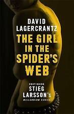 NEW THE GIRL IN THE SPIDER'S WEB by David Lagercrantz (Paperback)