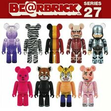 Bearbrick Be@rbrick 27 9P Set of 9pcs Artist Kiyoshiro Robocop Titan Tiger Mask