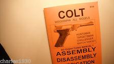BOOK COLT WOODSMAN HUNTSMAN TARGETSMAN CHALLENGE MANUAL