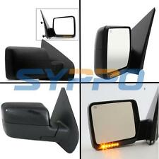 04-06 Ford F150 Pickup Power Heated Signal Side View Mirrors LH+RH Pair