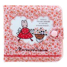 NEW Sanrio Marron cream vinyl wallet 9.5 × 1 × 9cm Kawaii F/S
