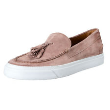 Marc Jacobs Men's Pink Suede Leather Moccasins Loafers Shoes US 10 IT 9 EU 43
