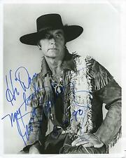 """GEORGE MONTGOMERY ACTOR """"DAVY CROCKETT INDIAN SCOUT"""" SIGNED PHOTO AUTOGRAPH"""
