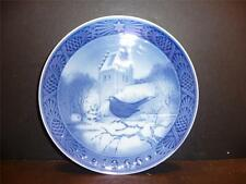 Royal Copenhagen, Denmark, Blackbird At Christmas Time, 1966 Plate - MINT
