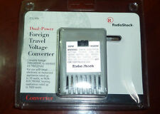 Radio Shack Dual Power Foreign Travel Voltage Converter Model 273-1410 1600W