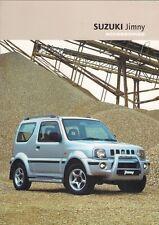 SUZUKI JIMNY ACCESSORI 2003-2004 Regno Unito delle vendite sul mercato opuscolo