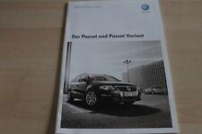 119044) VW Passat + Variant - Preise & tech. Daten & Ausstattungen - Prospekt 05