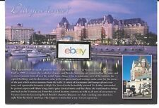 EMPRESS HOTEL VICTORIA B.C.,CANADA  DID YOU KNOW? POSTCARD