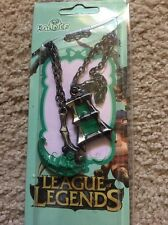 Cosplay League Of Legends Thresh Weapon Miniature Couples Necklace