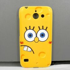 For Huawei Ascend Y550 SpongeBob TPU Mobile Phone Case Free Screen Protector